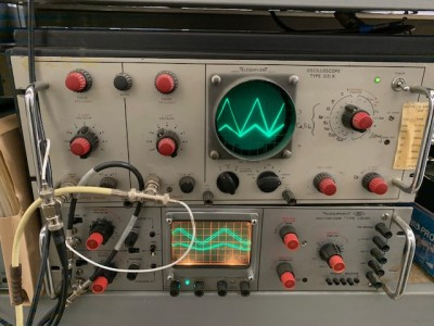 "Period Practical 19"" rack mountable oscilloscopes"