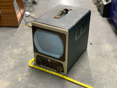 1950s portable television
