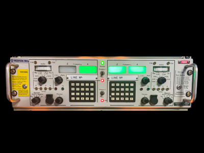 """Practical 19"""" rack panel with keypads and LED"""