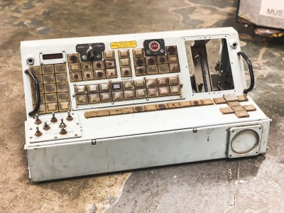 Blue Military/Naval control console (FCC Control Desk)