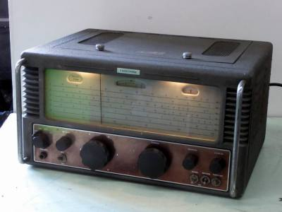 Practical 1950s era Eddystone 770R short wave & VHF radio receiver