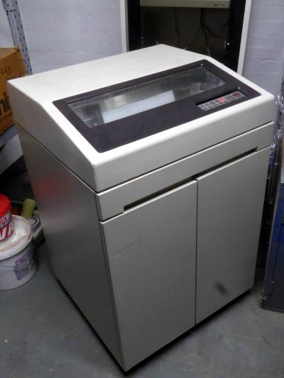 Large heavy duty mainframe computer line printer