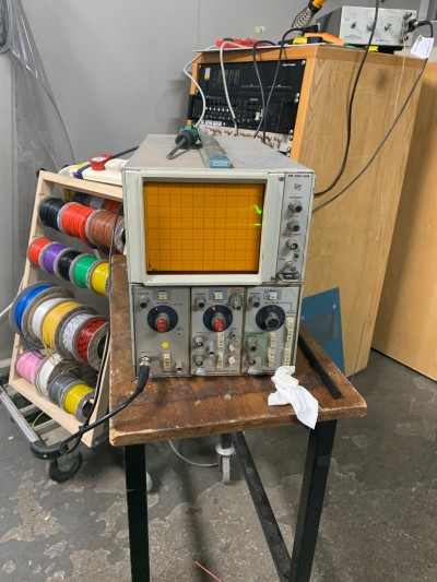 Practical Tektronix D10 oscilloscope