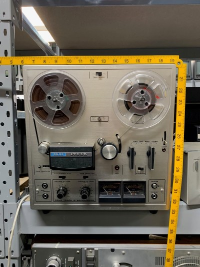 Practical Akai reel to reel tap player/recorder
