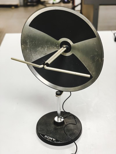 Vintage Portable TV aerial dish