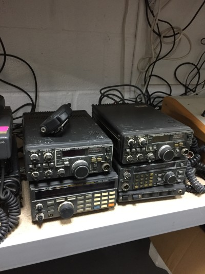 Selection of non practical CB radios