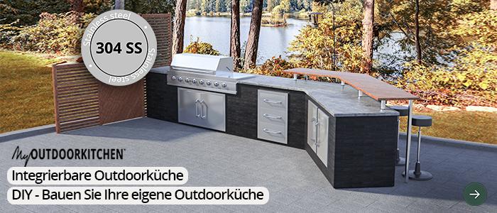 Outdoor Küche Edelstahl Zubehör : Outdoorküche meineoutdoorküche.de