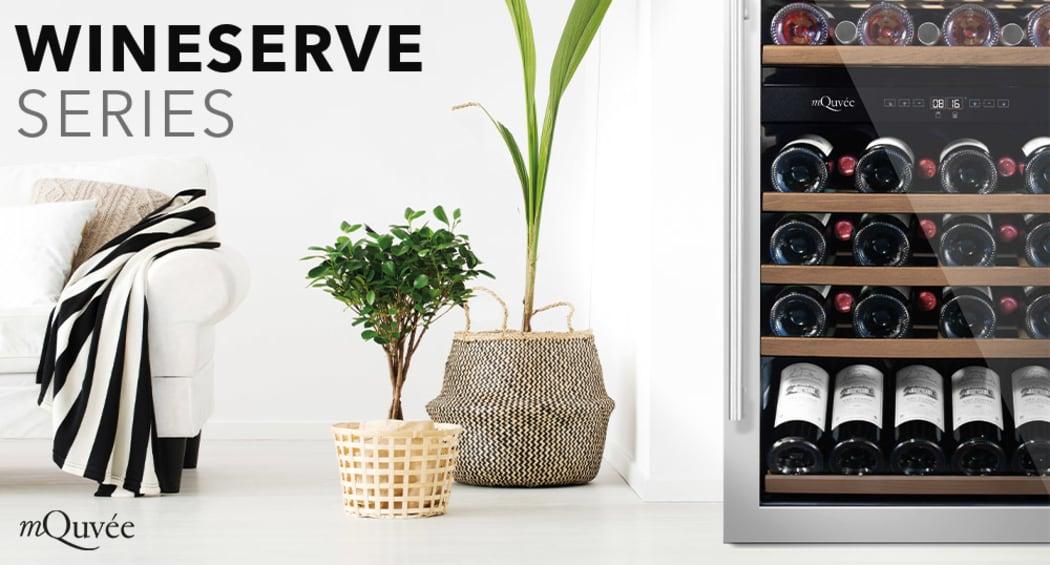 Vapaasti seisovat viinikaapit – WineServe Collection