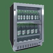Einbau-Bierkühlschrank in Edelstahl - BeerServer 60 cm