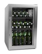 Vapaasti seisova olutkaappi – 63 litraa Stainless
