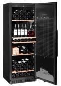 mQuvée Armadio vino - WineStore 177 Anthracite Black