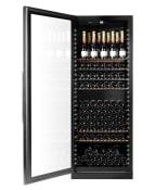 Viinien varastointikaappi - WineGuardian 220 Glass (vasenkätinen ovi)