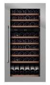 mQuvée Refroidisseur à vin intégrable - WineKeeper 70D Stainless (L : 59 x H : 123,4 x P : 55,9 cm)