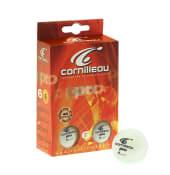 Pro bordtennisbolde 6-pack (hvid)
