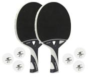 Tilbehørspakke NEXEO X70 udendørs bat (2 bat + 6 bolde)