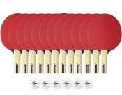 Tillbehörspaket 12-pack inomhusrack (12 rack + 6 bollar)