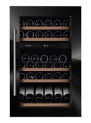 mQuvée Cave à vin intégrable - WineKeeper 49D Fullglass Black (L: 59 x H: 88,5 x P: 55 cm)