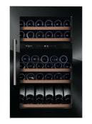 Integroitava viinikaappi - WineKeeper 49D Fullglass Black