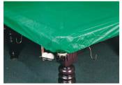 Grønt overtræk i plast 8/9 fod