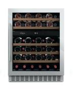 Sisäänrakennettava viinikaappi – WineCave 60D Stainless
