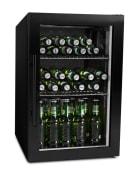 mQuvée Freistehender Bierkühlschrank - BeerExpert 63 l Schwarz