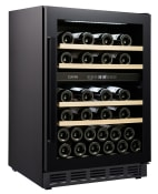 Vinkøleskab til indbygning - Arctic Collection 60D Fullglass Black