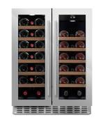[B-ware] mQuvée Einbau-Weinkühlschrank WineCave 60D2