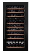 (B-ware) - mQuvée Integrierbarer Weinkühlschrank - WineMaster 89D Anthracite Black