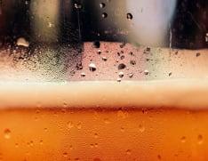 Öl för lagring och servering