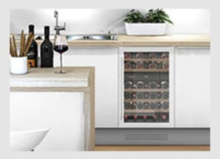 1. Sélectionnez votre cave à vin