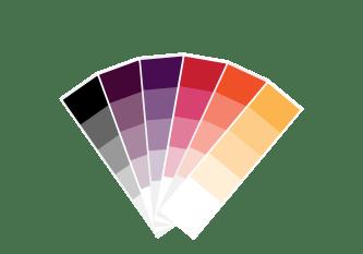 Färgkod och glanstal