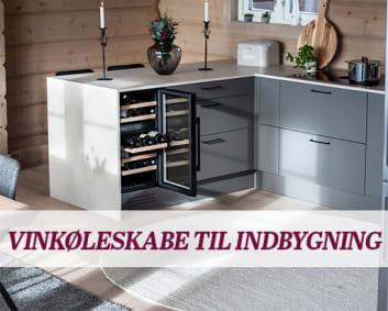Fritstående vinkøleskabe