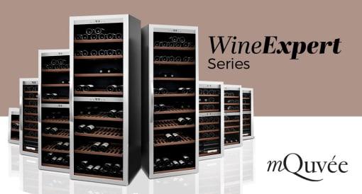 Frittstående vinskap fra mQuvée - WineExpert