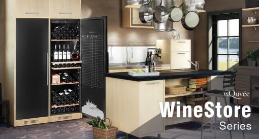 Innebygde vinlagringsskap
