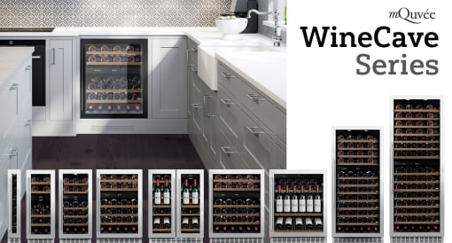 Built-in wine coolers - our quietest running units!