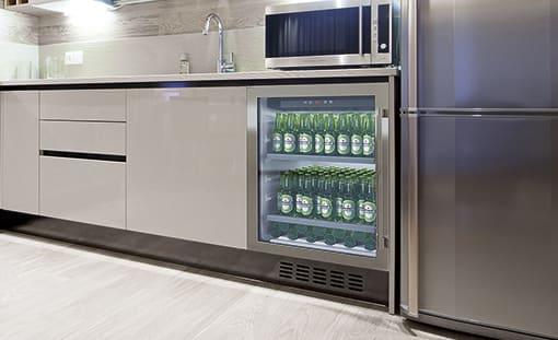 Ølkøleskabe til indbygning