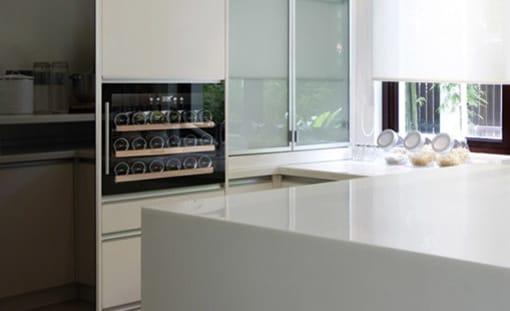 Integrérbare vinkøleskabe