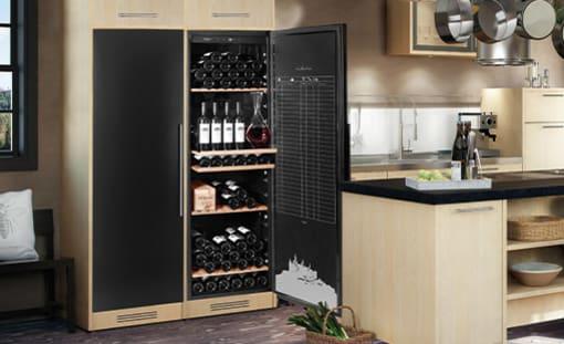 Vinopbevaringsskabe
