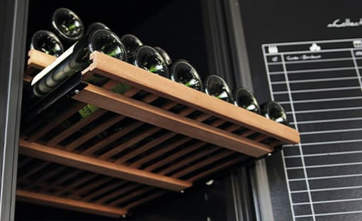 Regalböden für Weinkühlschrank