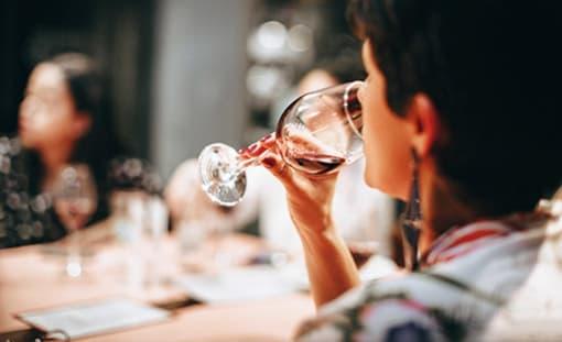 Wein degustieren