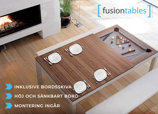 Biljardbord Aramith Fusion