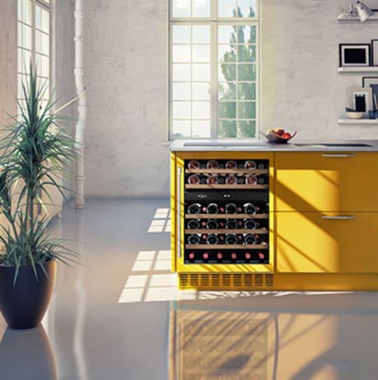 Sisäänrakennettavat viinikaapit