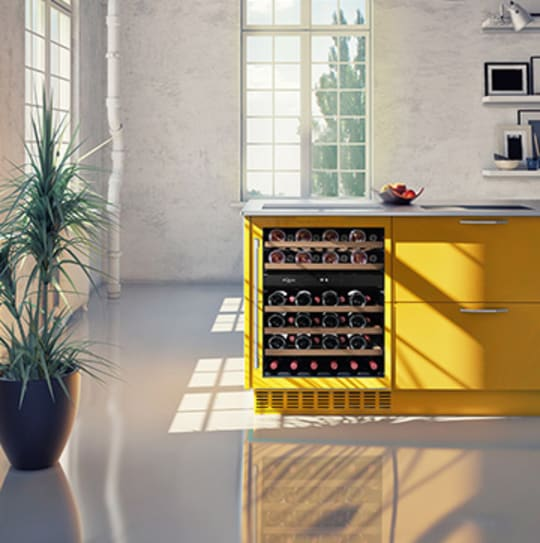 Built-in wine coolers