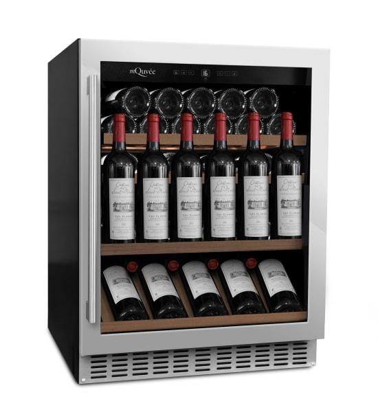 mQuvee - inbyggbar vinkyl i rostfri finish