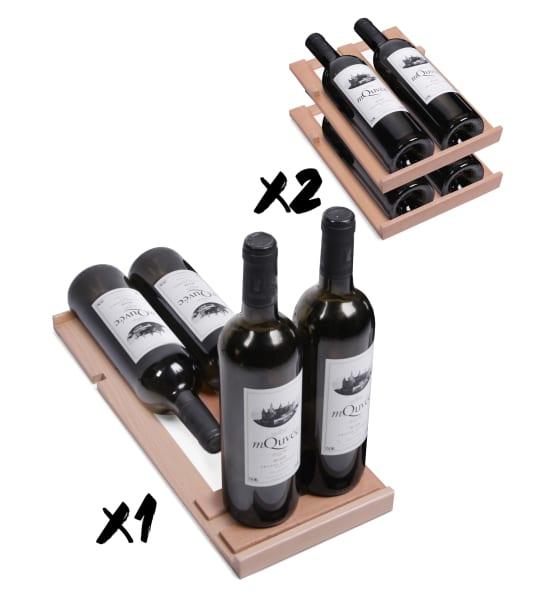 Clayette de présentation mQuvée - WineCave 30S