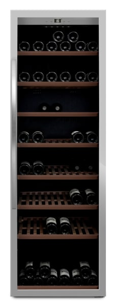 mQuvée - rostfri fristående vinkyl - rymmer 192 flaskor