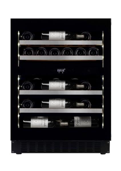 Vinoteca encastrable mQuvée - WineCave Exclusive 700 60D Fullglass Black