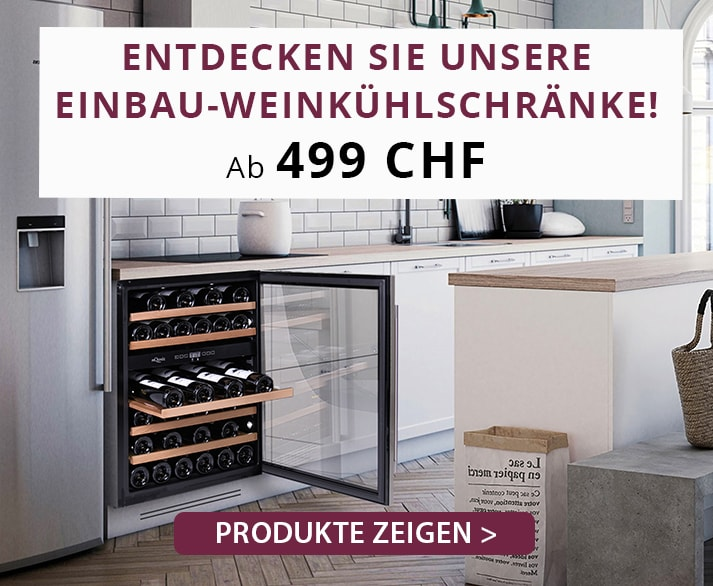 Cavin Freistehende Weinkühlschränke Kampagne