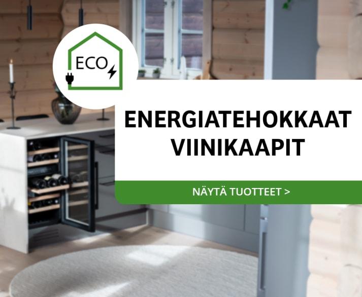 Custom Made - mQuvée sisaanrakennettavat viinikaapit