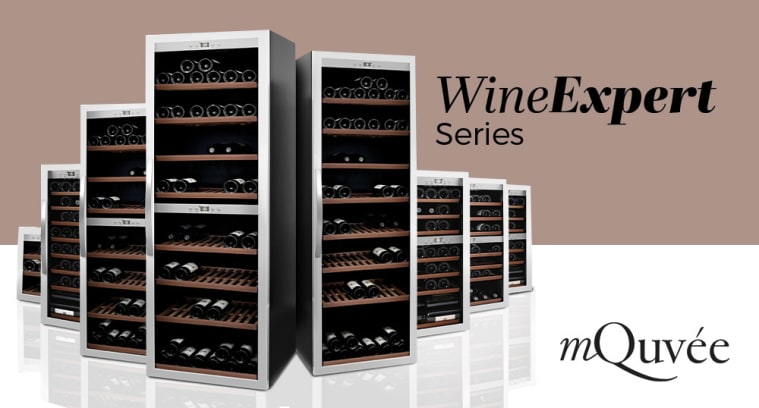 Fristående vinkylar mQuvée - WineExpert series
